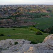 Badlands in Theodore Roosevelt National Park, North Dakota