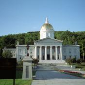 Vermont State Capitol in Montpelier