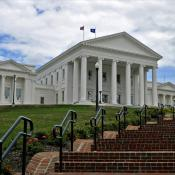 The Virginia State Capitol in Richmond