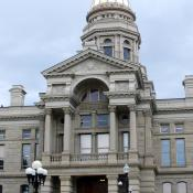 Wyoming State House in Cheyenne