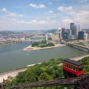 Duquesne Incline in Pittsburgh
