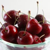 Fresh cherries; the official fruit of Washington DC