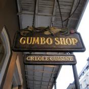 Gumbo Shop in New Orleans, Louisiana