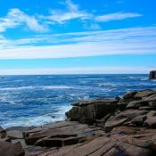 Maine coast at Acadia National Park