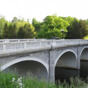 Marble bridge in Proctor, Vermont