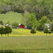 Rural West Virginia; scenic, fertile land