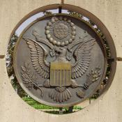 Great seal of the United States at the Oklahoma City National Monument