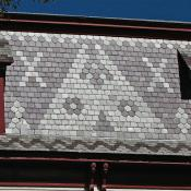 Slate roof in Burlington, Vermont