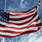 The star spangled banner (flag of the United States of America)