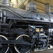 Steam locomotive 076B2322; Georgia State Railroad Museum, Savannah GA