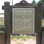 Tucumcari, New Mexico Historic Marker