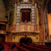 Historic Alabama Theater balcony