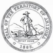 Arizona Territory seal c1864
