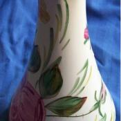 Blue Ridge hand-painted porcelain vase
