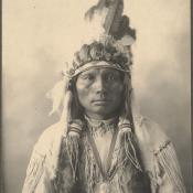 Cheyenne Indian portrait 1898