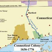 Connecticut Colony 1636-1776.