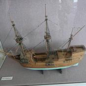 Model of the Mayflower