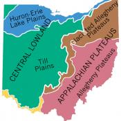 Geographic regions of Ohio