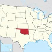 The state of Oklahoma in the United States of America