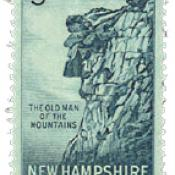 U.S. postage stamp issued in 1955