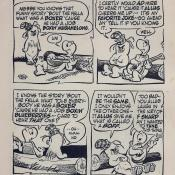 "Pogo Possum comic strip characters; ""Boxin' Mushmelons"" (1955)"