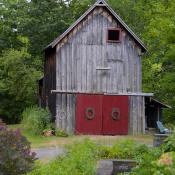 Rural American architecture in upstate New York
