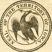 Historic Seal of the Iowa Territory