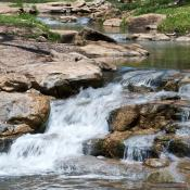 Stream in Chickasaw National Recreation Area, Oklahoma