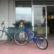 A tandem bicycle in Delaware