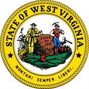 Official state seal of West Virginia