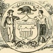 1902 drawing representing Wisconsin