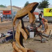 Prize-winning entry, Reedsport, 2009 Oregon chainsaw carving competition