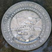Representation of the great seal of the state of Nevada