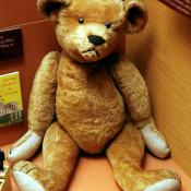 Teddy bear at Smithsonian Museum