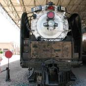 Locomotive at Ogden Union Station in Utah