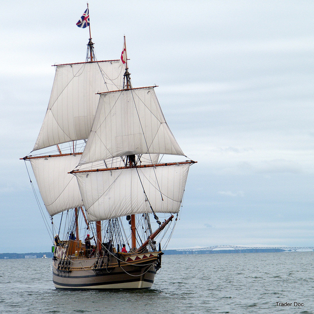 Virginia State Fleet | Susan Constant, Godspeed, and Discovery