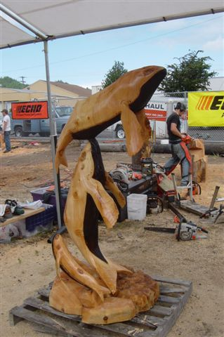 Chainsaw carving capital of oregon reedsport